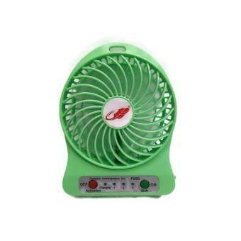 Portable cooler พัดลมมินิ Portable Fan F95B-เขียว