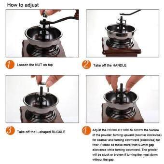 เครื่องบดเมล็ดกาแฟแบบมือหมุน เพื่อรสชาดกาแฟที่หอมกว่า