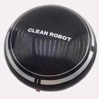 หุ่นยนต์ดูดฝุ่นอัตโนมัติ ขนาดพกพา หุ่นยนต์ทำความสะอาดพื้น
