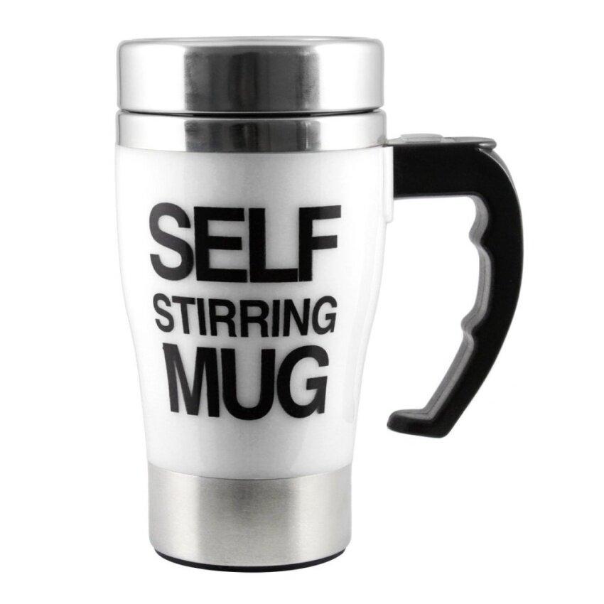 Rayton Self Stirring Mug แก้วชงกาแฟอัตโนมัติ (Wnite)
