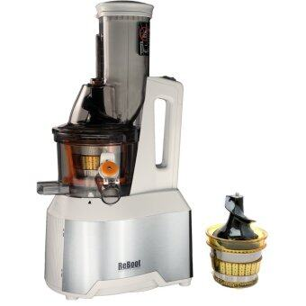 ReBoot Master 6000 เครื่องแยกกาก Juicer (White) ฟรี หัวกรองเปล่า (image 0)