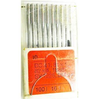 RHEIN NADEL เข็มจักรโพ้งอุตสาหกรรม รุ่น SY-1225 NO.DC100/16 10 Pcs (สีเงิน) จากเยอรมัน