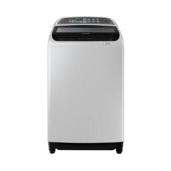 เครื่องซักผ้าเปิดฝาด้านบน ยี่ห้อ Samsung Activ Dualwash ความจุน้ำหนัก 11 กิโลกรัม โมเดล WA11J5710SG/ST