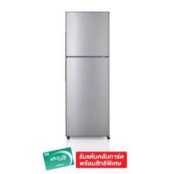 SHARP ตู้เย็น 2 ประตู 7.9 คิว รุ่น SJ-Y22T-SL (สีเงิน)