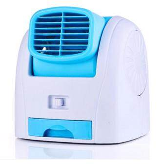 shop108 Mini Air Cool Condenser พัดลมแอร์ปรับอากาศขนาดมินิ - Blue