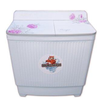 SILA TIGER เครื่องซักผ้าถังคู่ SW118 ขนาด 11.5 Kg.(สีขาว)