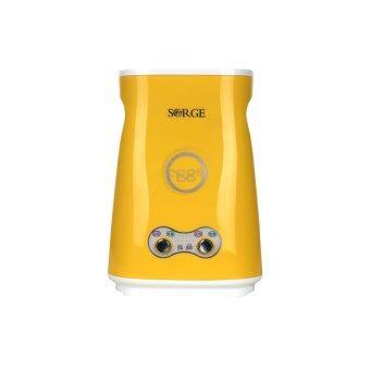 Sorge Egg master เครื่องทำไข่ม้วน 2 ช่อง รุ่นใหม่มีสวิตซ์ - สีเหลือง
