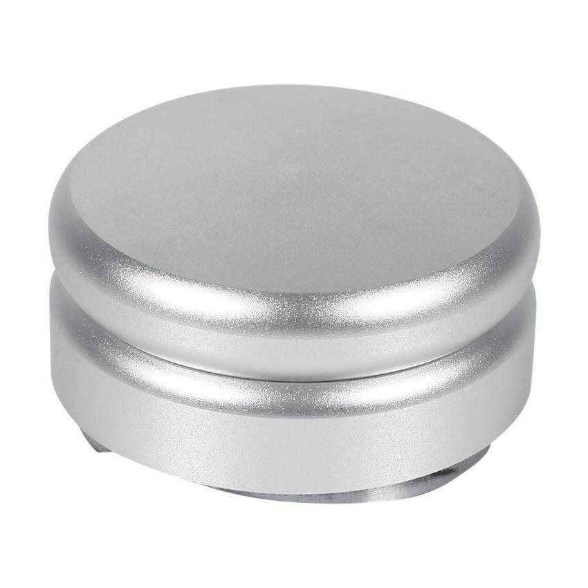 Stainless Steel Smart Coffee Tamper 58.5mm Base With Three Angled Slopes # Silver Color - intl