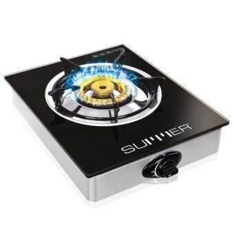 SUMMER Magic Crystal เตาแก๊สหัวเดี่ยว-ทองเหลือง รุ่น SU0390 (สีดำ)