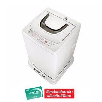 ซื้อ/ขาย Toshiba เครื่องซักผ้าฝาบน ความจุ 6.5 Kg. รุ่น AW-A750STWG - White