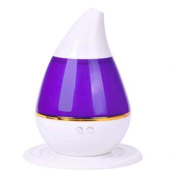 ประกาศขาย Ultrasonic Air Humidifier Essential Oil Diffuserอัลตราโซนิกอากาศความชื้น (purple)