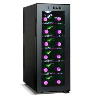 Wine Cooler ตู้แช่ไวน์คุณภาพสูง ขนาด 12 ขวด (Black Series)