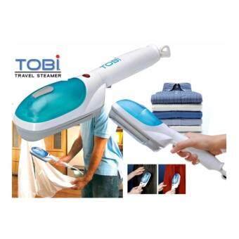 ZXK - TOBI เครื่องรีดผ้าไอน้ำ เตารีดผ้า รีดผ้าเรียบเนียน แบบพกพาสีฟ้า-ขาว
