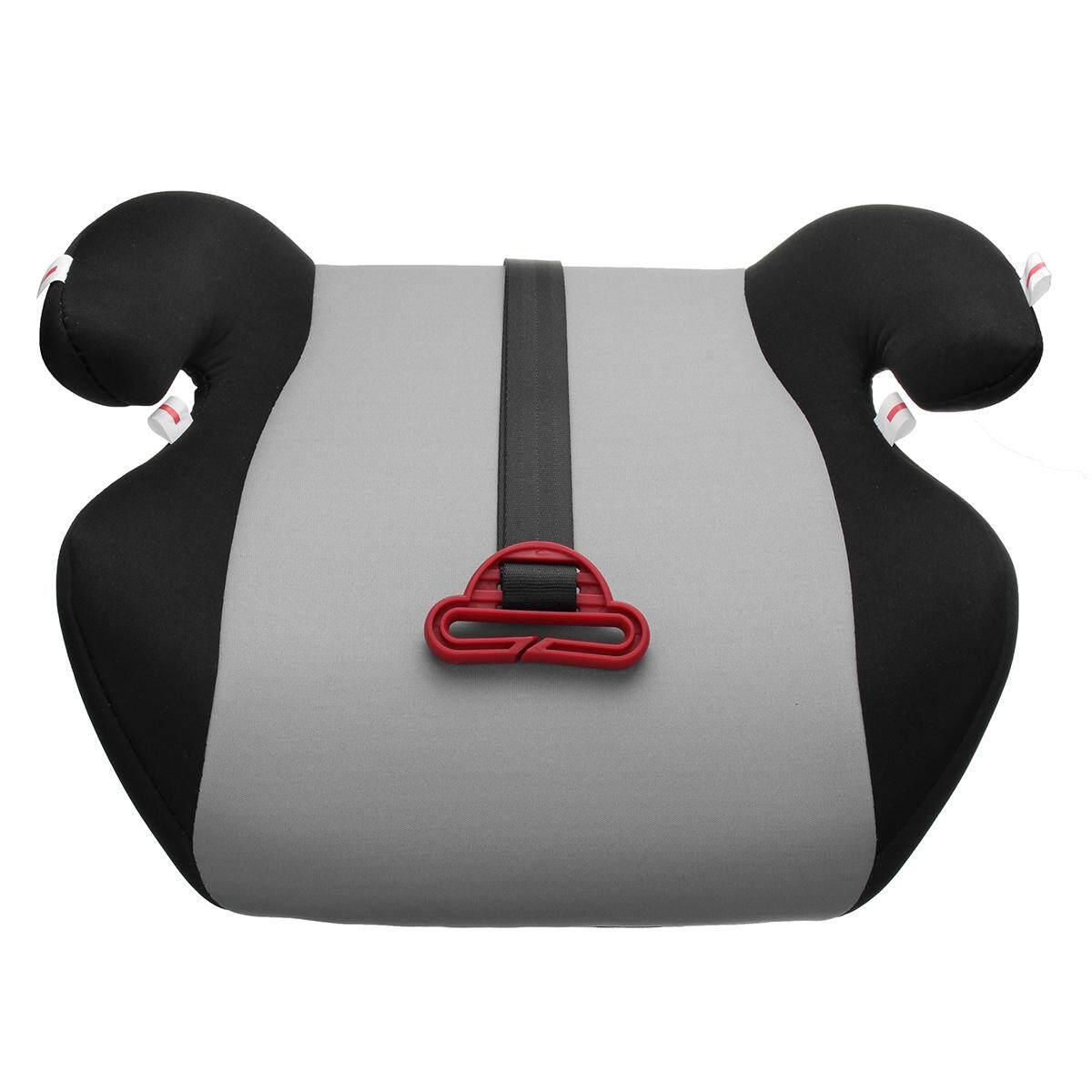 คาร์ซีท เบาะรองนั่ง ที่รองนั่ง เบาะรองนั่งเด็กในรถ คาร์ซีทแบบบูสเตอร์ซีท Car Safety Seat Booster Breathable Cushion Portable Comfortable For Baby Toddler Kids Children