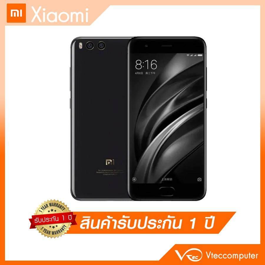 ยี่ห้อนี้ดีไหม  กระบี่ Xiaomi Mi 6 Ram 6GB/Rom64GB สีดำ ประกันศูนย์ 1 ปี