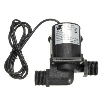 2pcs DC 12V 1000L/H Electric / Solar Brushless Motor Water Pump Aquarium Fountain New - intl