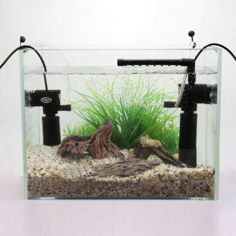 5W Mini 3 in 1 Multi-function Aquarium Purifier Water Quality Tank Filter - intl