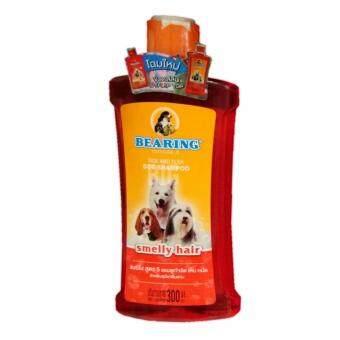 Bearing Anti Tick and Flea for Smelly Haired Dog Shampoo 600 ml (1\nunit) แชมพู สุนัข แบร์ริ่ง สูตร 5 กำจัดเห็บ หมัด และ กลิ่นสาบ 600\nมล. (1 ขวด)