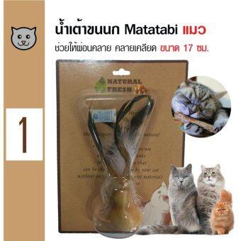 เปรียบเทียบราคา Catwant Matatabi Gourd น้ำเต้าขนนกมาทาทาบิ ตำแยแมว กัญชาแมว ขนมแมวของเล่นแมว ขนาด 17 ซม.