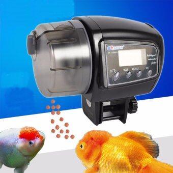 เครื่องให้อาหารปลา อุปกรณ์เลี้ยงปลา เครื่องให้อาหารอัตโนมัติ เครื่อง ตั้งเวลาให้อาหารปลา RESUN AF-2005D