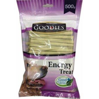 Goodies Energy Treats ขนมขัดฟัน แท่งเกลียว รสคลอโรฟิลด์500g