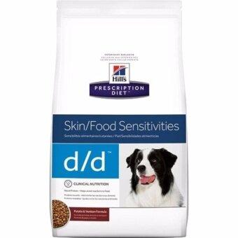 Hill's d/d สำหรับสุนัขที่มีปัญหาโรคผิวหนัง 3.63kg ( 2 units )