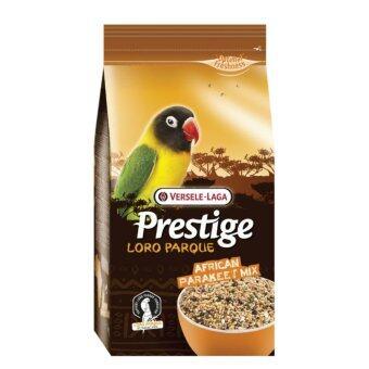 Versele-Laga เพรสทีจ โลโรพาร์ค อาหารนก พารากีตแอฟริกัน นกแก้ว นกเลิฟเบิร์ด สูตรโลโรพาร์ค African Parakeet Loro Parque Mix Parrot Bird Food Lovebird Psittacine, 1 Kg.