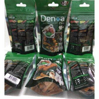 Goodies Denta Plus :ขนมสุนัขรูปแปรงสีฟัน S จำนวน 28 ชิ้น/ซอง x 6 ซอง Goodie (กู้ดดี้ เดนต้า พลัส) ขนมขัดฟันสำหรับสุนัข ไซส์ s จำนวน 28 ชิ้น บำรุงข้อและกระดูก เส้นขนและผิวหนังเงางาม ลดกลิ่นปากและคราบหินปูน