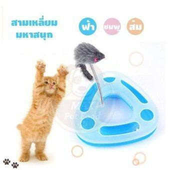 ของเล่นแมวสามเหลี่ยมมหาสนุก