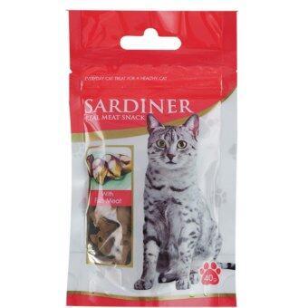 Sardiner Real Meat snack ซาดีเนอร์ กลิ่นปลาย่าง แพค 12 ชิ้น