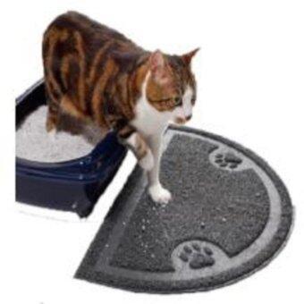 Pet doo dee wo-375 พรมยาง เช็ดเท้า สำหรับแมว