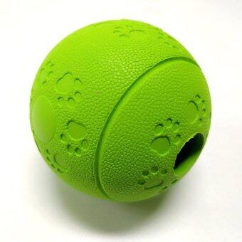 Harga Premium Dog Fetch Balls &Amp; Treat Balls For Dog Trainingexercise &Amp; Play Green - intl