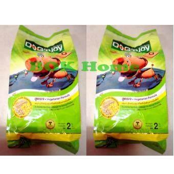 Dog'n joy Vegetarian Formula 2 Kg. (2 bags) อาหารสุนัขแบบเม็ด Dog'n joy สำหรับสุนัขโต สูตรเจ สำหรับสุนัขที่แพ้โปรตีนจากเนื้อสัตว์ 2 กก. (2 ถุง)