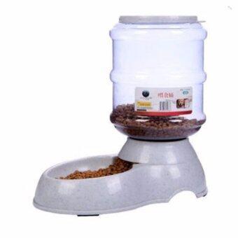 Dcpetshop เครื่องให้อาหารอัตโนมัติ (สำหรับใส่อาหาร) 3.5L