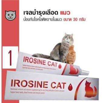 IROSINE เจลบำรุงเลือด ป้องกันโรคโลหิตจางแมว สำหรับแมว ขนาด 30 กรัม