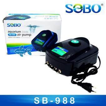 ปั๊มอ๊อกซิเจน SOBO SB-988