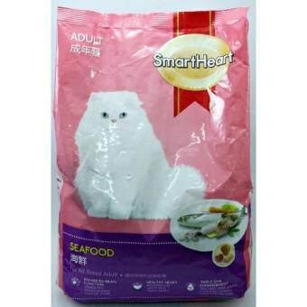 Smartheart อาหารแมวโต รสซึฟู้ด ขนาด 1.2kg(...)