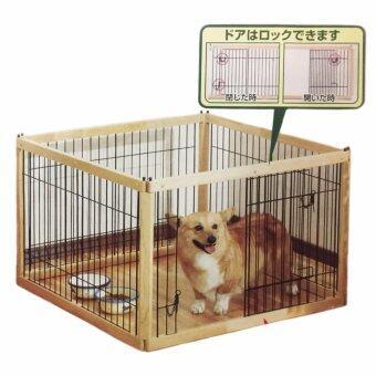 คอกไม้สไตล์ญี่ปุ่น รุ่น900D ขนาด 94.5x94.5x61 ซม.