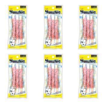 MUNZNIE ขนมขบเคี้ยวสำหรับสุนัข เนื้อพันครันชี่ บรรจุ 3 ชิ้น (x6 packs)