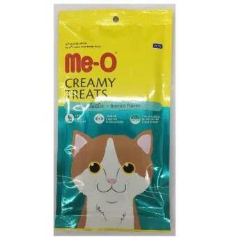 Me-o Creamyขนมแมวเลีย รสโบนิโตะ รุ่น4ซอง ซองละ15g ( 3 units )