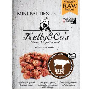 เคลลี่แอนด์โค มินิแพ็ตตี้ สูตรเนื้อวัวและไก่