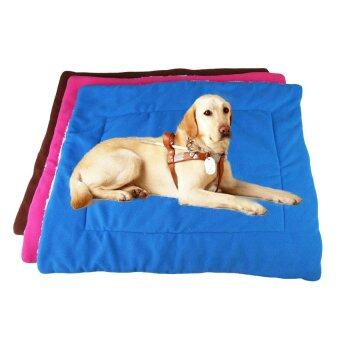 Harga Soft Cotton Pet Bed Cushion Pad Puppy Dog Cat Comfortable Mat SizeL - intl