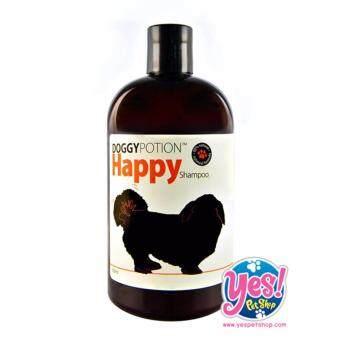 DOGGYPOTION แชมพู สูตร Oatmeal & Biotin กลิ่น Happy 500 ml.