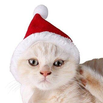 Harga Cat Dog Santa Hat Pet Party Holiday Hat,Christmas Party,Red - intl