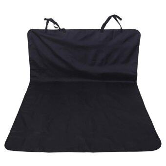 Harga Universal Car Protector Pets Dog Cat Hatchback Pad Trunk Boot Mat Cover Travel Seat- Black - intl