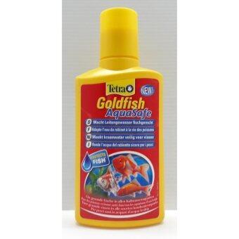 Tetra Goldfish Aqua Safe น้ำยาปรับสภาพน้ำสำหรับปลาทอง 250 ml.