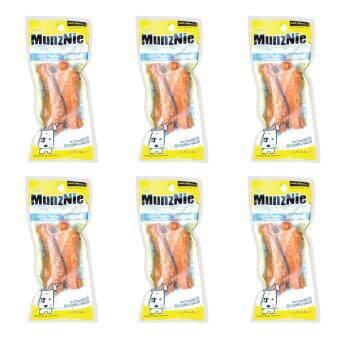 MUNZNIE ขนมขบเคี้ยวสำหรับสุนัข มันชี่ิน่องไก่ บรรจุ 2 ชิ้น (x6 packs)