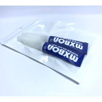 mxbon super glue gel กาวสำหรับติดต้นไม้น้ำ แบบ 2 หลอด