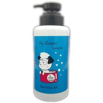 Dog Shampoo Ryder แชมพูสุนัข สไตล์อิตาลี ขนนุ่มลื่น กำจัดเห็บ-หมัด ขนาด 500 CC. x1