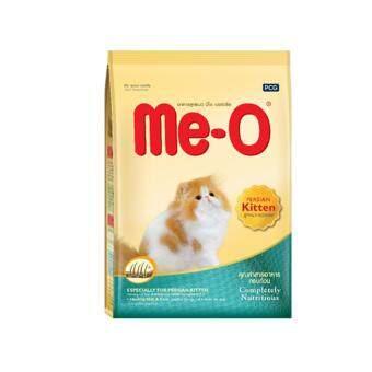Me-O Persian Kitten Food 400g.- มีโอ สูตรลูกแมวเปอร์เซีย หลังหย่านม-1 ปี ขนาด 400 กรัม